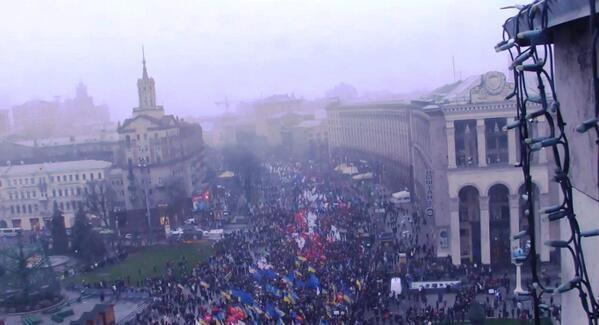 Yesterday Manifestation In Kiev
