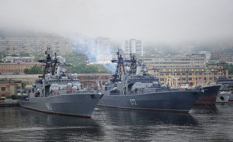 Russia And China Marine Interaction