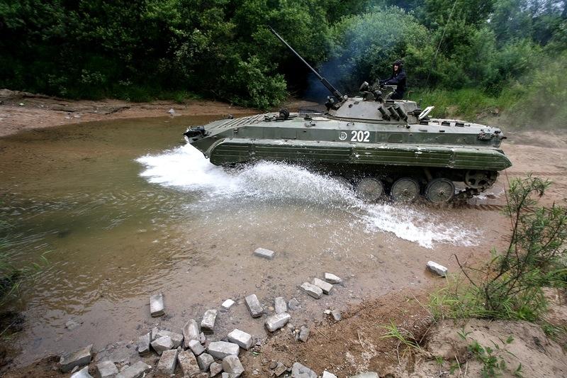 On a Russian Tank Training Area