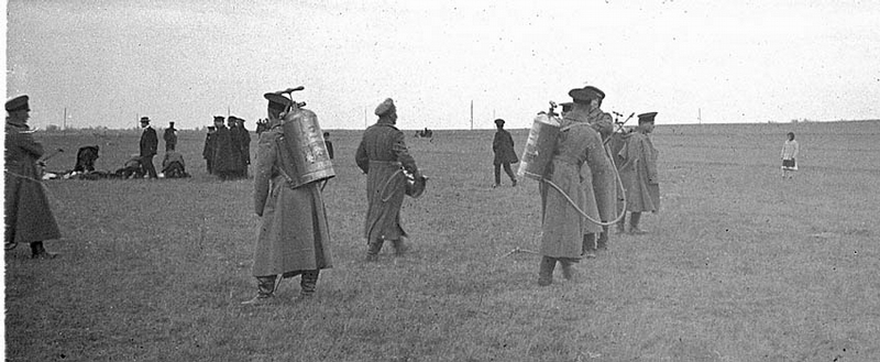 Gas Mask Testing In the Field
