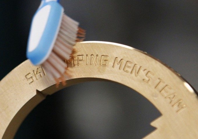 Making Olympic Medals For Sochi 2014