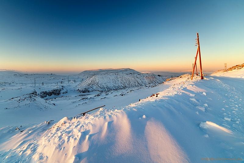Lonely Frozen Place: Medvezhka
