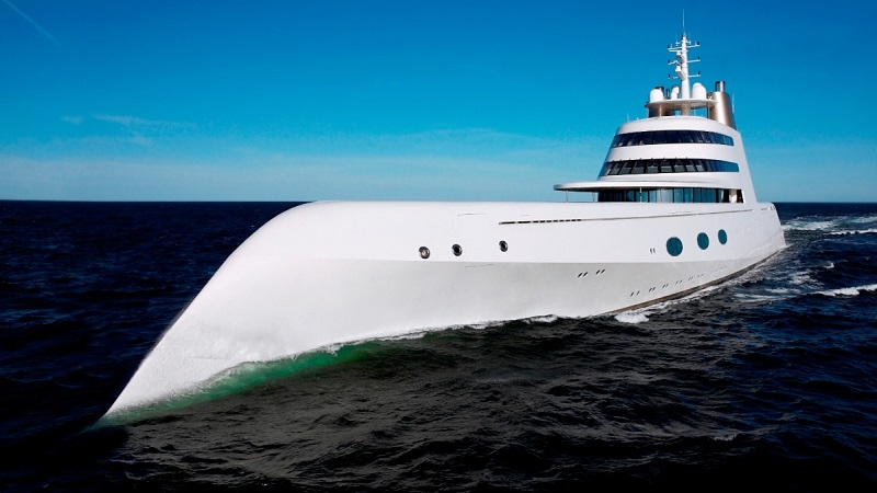 Yacht For the Russian Billionaire