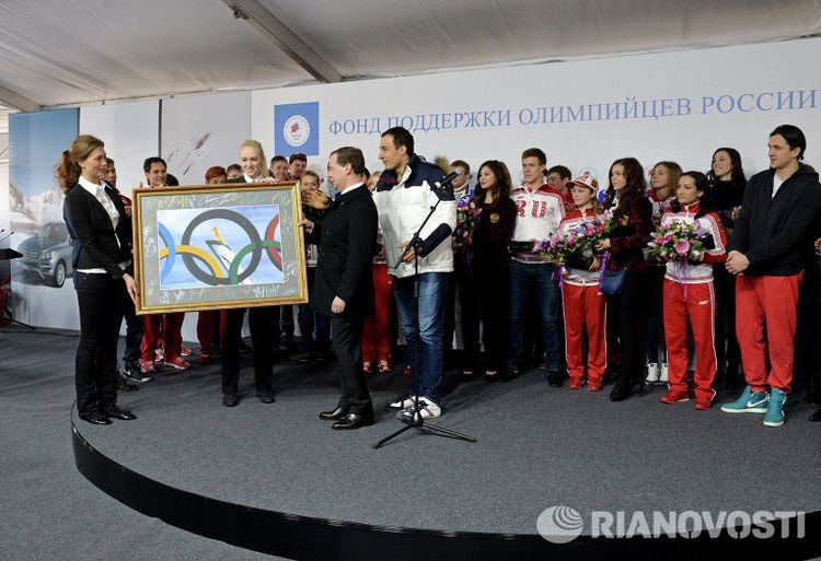Russian Olympic Prize Winners Get Mercedes Cars