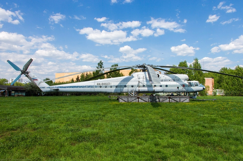 Mi 10K Helicopter: Exterior Pictures