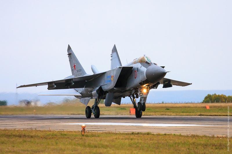 King In the Sky: MiG 31BM