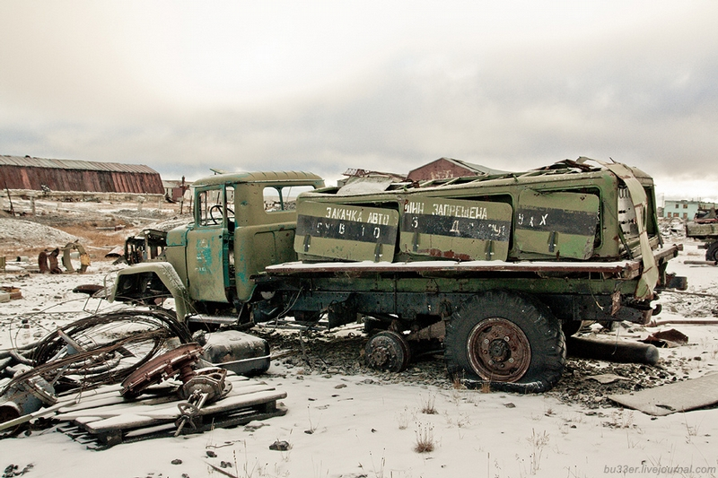 Russian North: Abandoned Military And Construction Plant