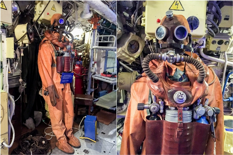 What Is Inside of a Military Submarine?