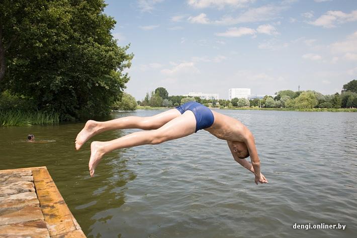 Hot Days In Minsk