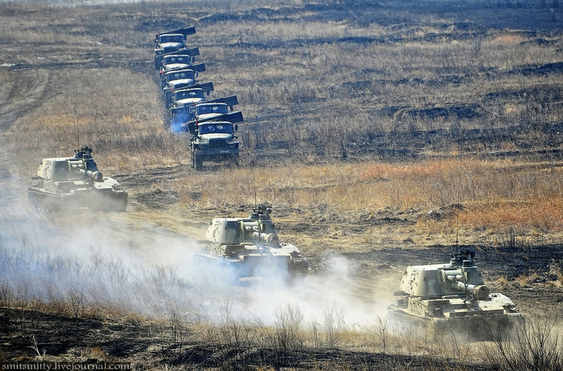 Training Exercises of Missile And Artillery Units