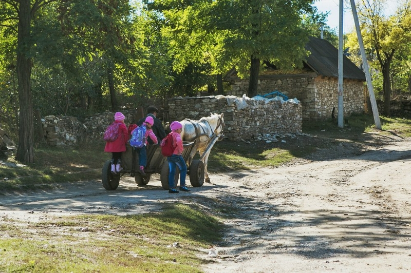 Life In The Moldavian Countryside