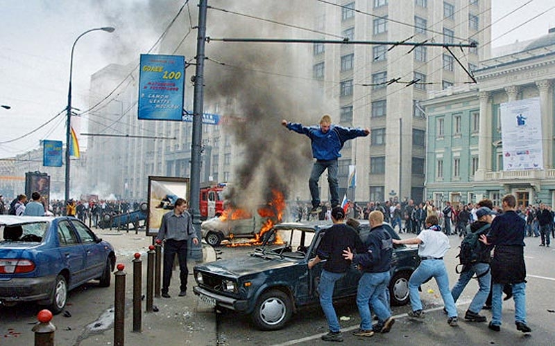The Biggest Riot In Moscow Since the Beginning of the Century