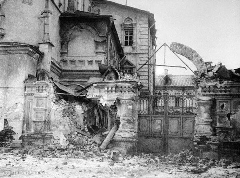Moscow Destroyed By the Revolution
