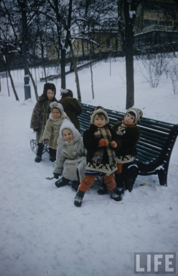 Moscow Children In the Early 1960s