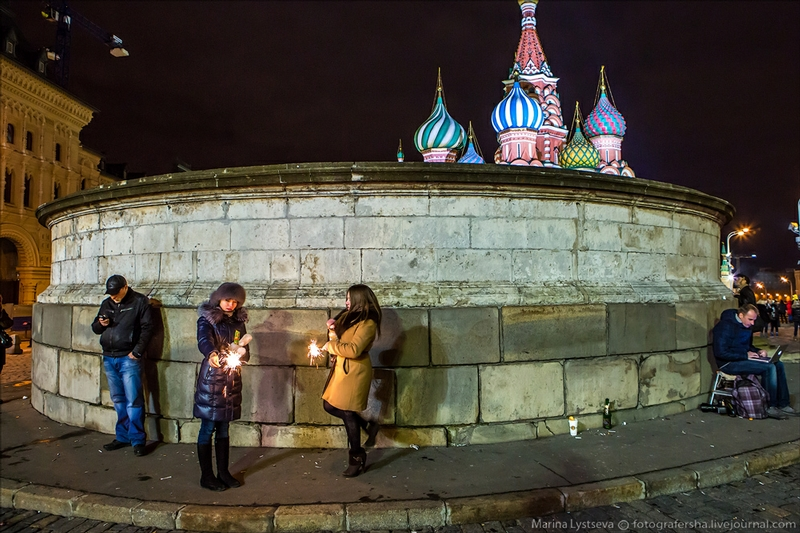 Meeting the New Year on the Main Square