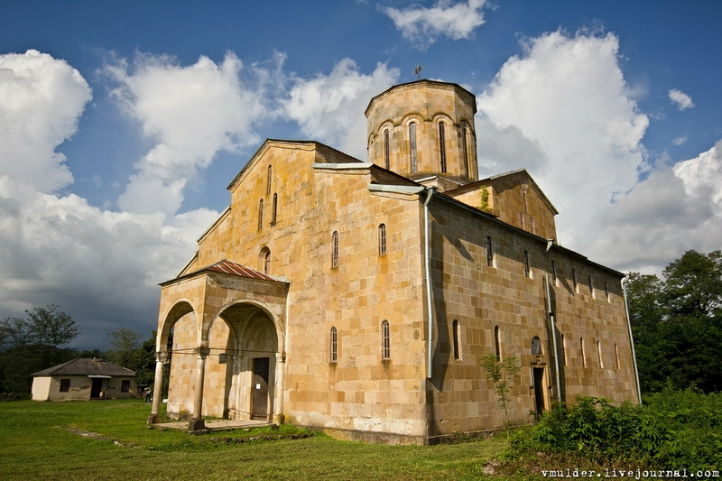 Old Temple In Abkhazia