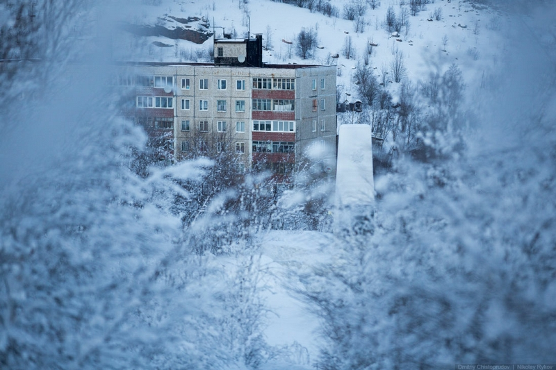 Winter In the Arctic Circle