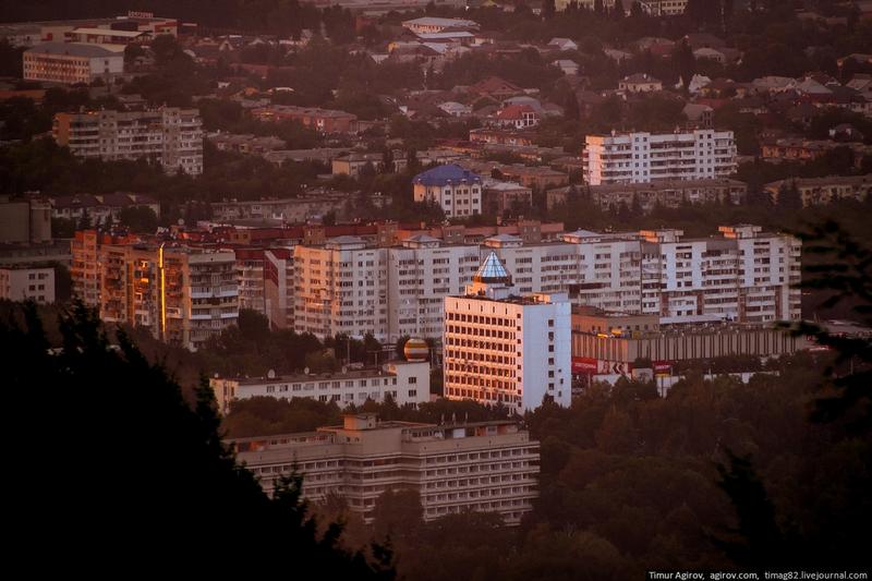 One Caucasian City