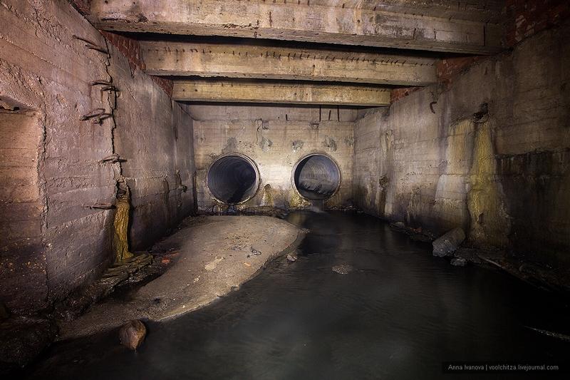 Legendary River Under Central Minsk