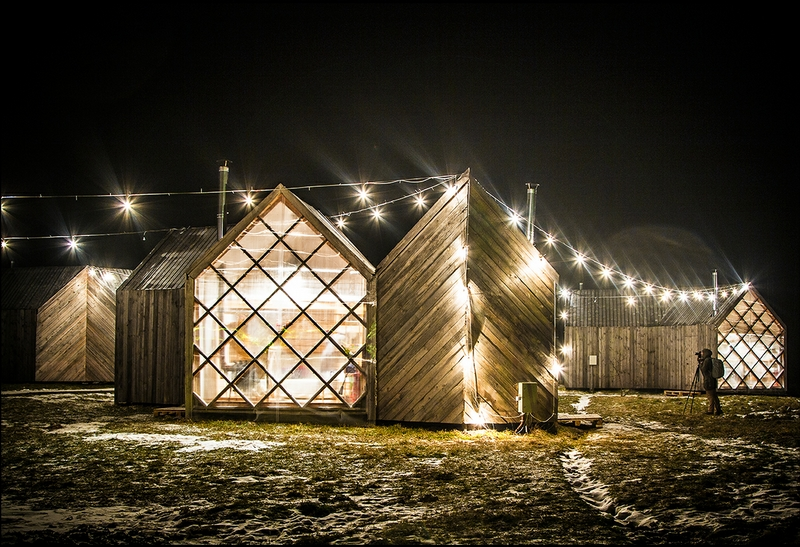 Winter In the Alien Village
