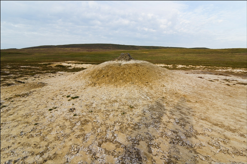 The Ukrainian Nipple And Other Mud Volcanoes