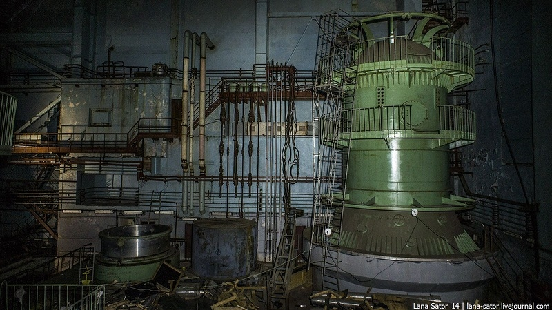 Infiltration to the Unfinished Nuclear Heating Plant