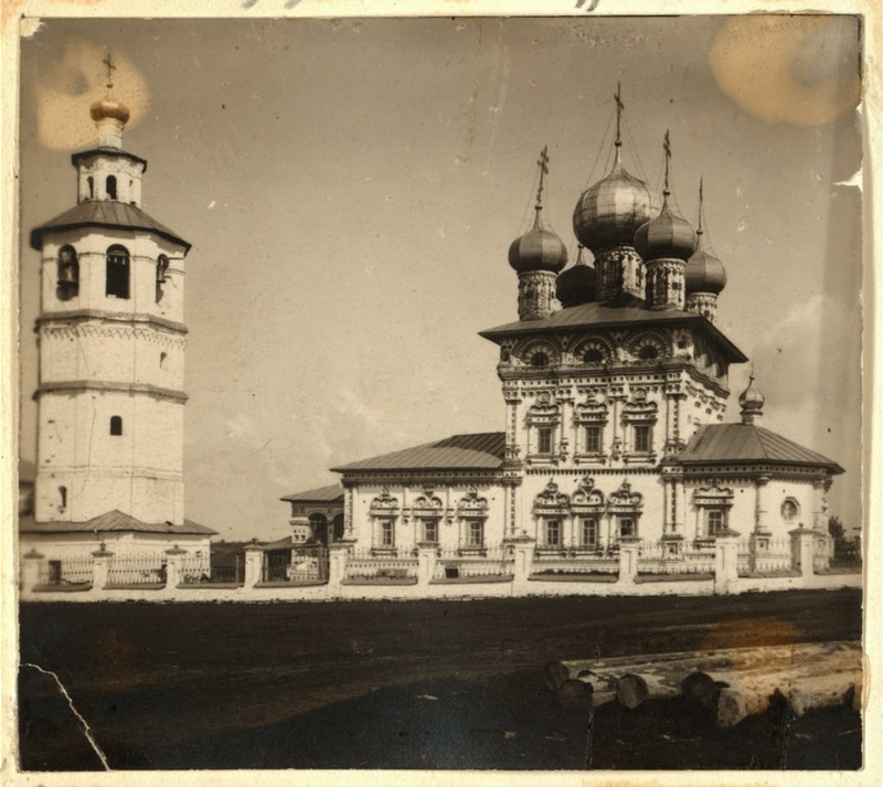 Old Pictures of the Russian Village
