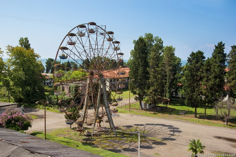 Little Abkhazian City: Time Travel to the Soviet Past