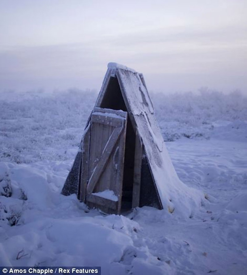The Coldest Place In the World
