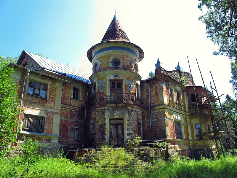 Old Romantic House