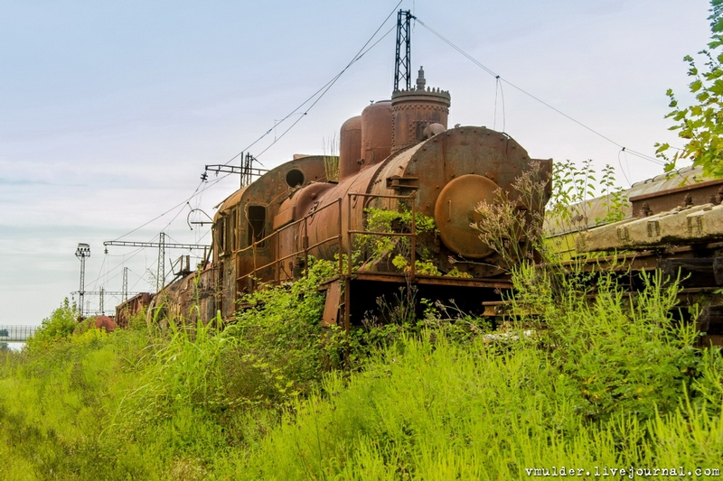 Sleeping Locomotive