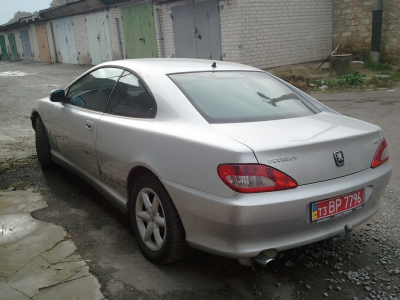 Transformation of Peugeot 406