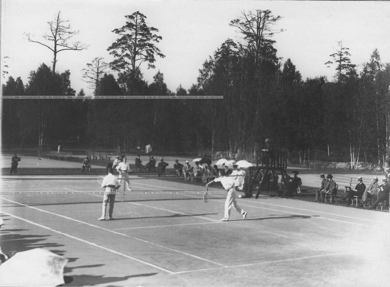 Tennis Was Popular In Old Russia Too