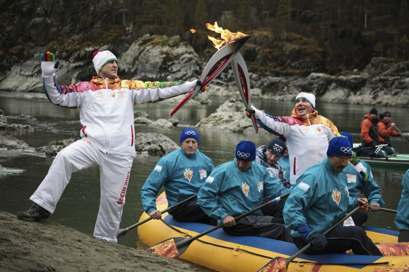Russian Olympic Relay: Interesting Moments