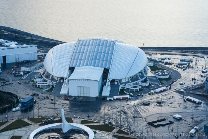 Olympic Objects 2014 From Above