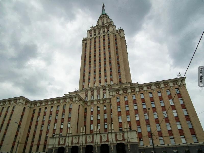 Famous Hotel In a Stalins Skyscraper