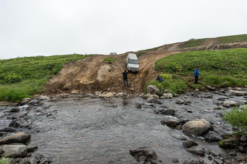 Car Travel In Kamchatka