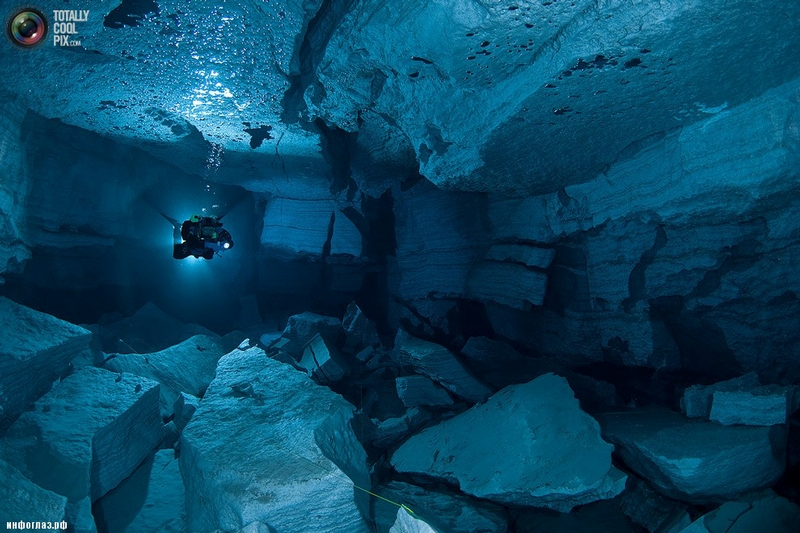The Most Extended Cave of Russia