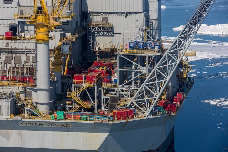 The Huge Drilling Platform of Sakhalin