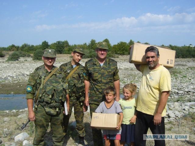 Antiterrorist Training Of Russian Soldiers In Ossetia