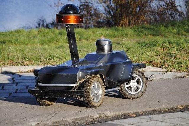 Russian Patrol Robot