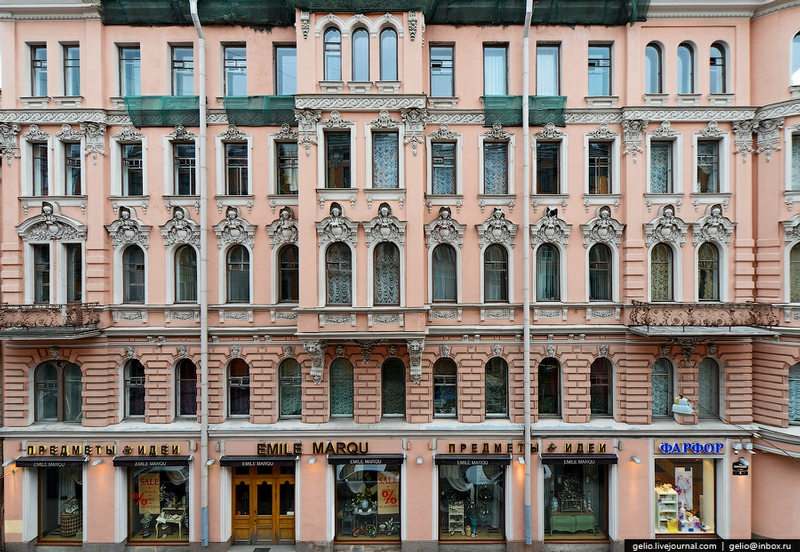 Architectural Textures From St. Petersburg