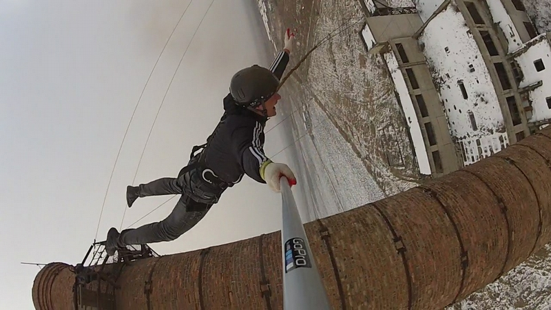Jumping From the 50 m Pipe
