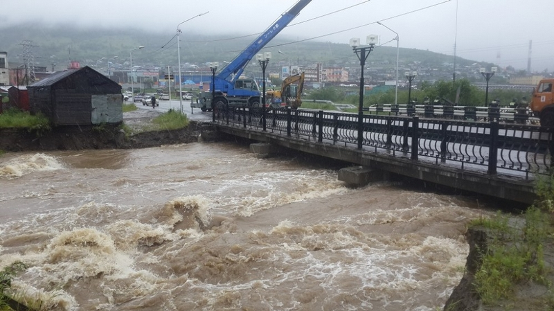 The Flood Washes Planes Away In Magadan