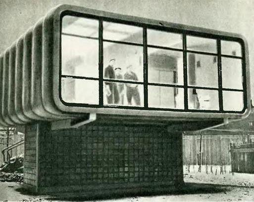 Soviet Experimental Plastic House