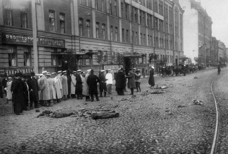 Historical Photos of Assassination of Russian Minister of the Interior