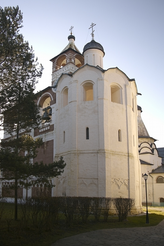 Autumn, Clear Sky And Beauty of Monasteries