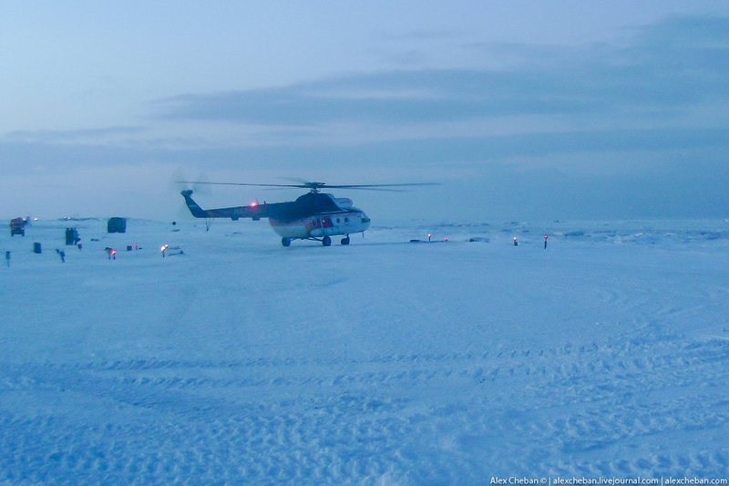 Children of the Polar Class go to school on Helicopter [20 pics]