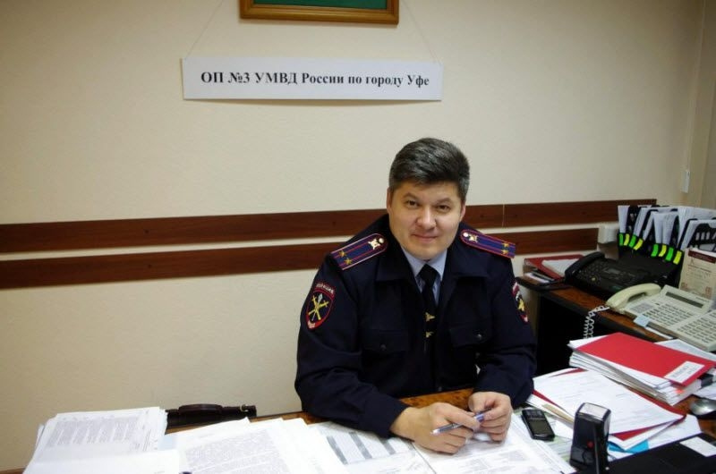 One Day Of a Russian Police Inspector