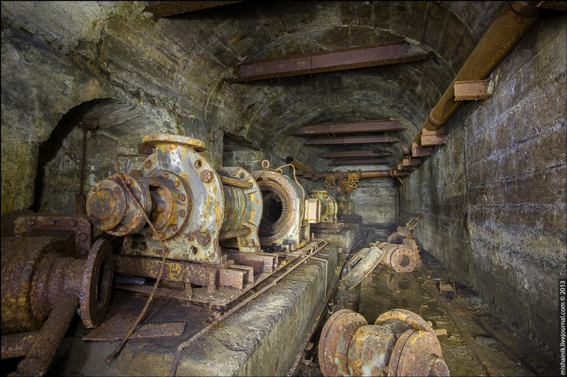 The Mine Built Soon After the War